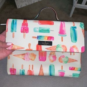 Kate Spade flavor of the month cosmetic bag
